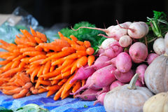 Fresh vegetables on Salamanca Marke Royalty Free Stock Images