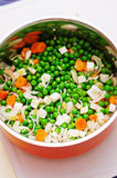 Fresh vegetables for soup Stock Photo