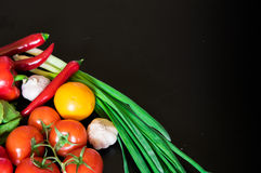 Fresh vegetables on the table Stock Image