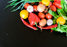 Fresh vegetables on the table Royalty Free Stock Image