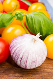 Fresh vegetables Stock Photos