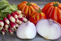 Fresh vegetables from the Weekly Market Royalty Free Stock Images