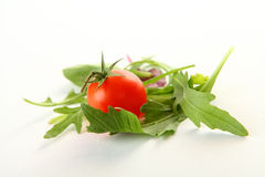 Fresh vegetables on white Stock Images