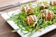 Fresh vegetarian falafel Royalty Free Stock Photos