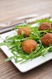 Fresh vegetarian falafel Royalty Free Stock Photo