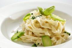 Fresh Vegetarian Pasta Stock Photo