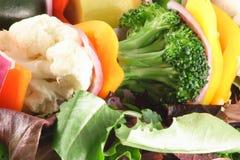 Fresh veggies. Healthy fresh and delicious vegetables Stock Photos