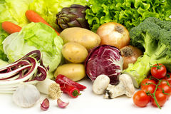 Fresh veggies Stock Images