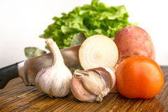 Fresh vegies Stock Photography