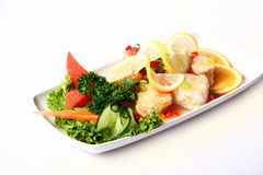 Fresh and very tasty food d Royalty Free Stock Photos