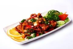 Fresh and very tasty food f Stock Photos