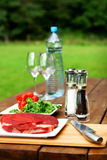 Fresh and very tasty steak Royalty Free Stock Image