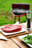 Fresh and very tasty steak Royalty Free Stock Images