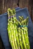 Fresh vibrant asparagus from local market Stock Photos