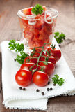 Fresh Vine Tomatoes Stock Photography