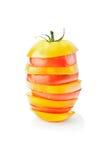 Fresh vitamin background. Tomato mix Royalty Free Stock Photography