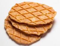 Fresh waffles Stock Image