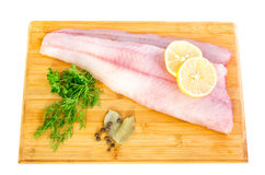 Fresh walleye fillets Royalty Free Stock Images