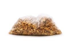 Fresh walnut nuts isolated Stock Photos