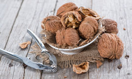 Fresh Walnuts Royalty Free Stock Photos