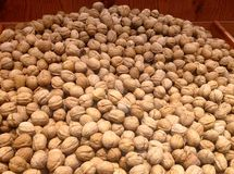 Fresh Walnuts At The Market Stock Image