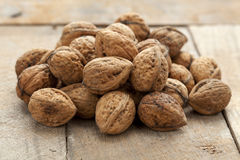 Fresh walnuts Royalty Free Stock Photo