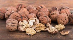 Fresh walnuts Stock Image