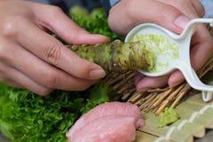 Fresh wasabi Royalty Free Stock Photography