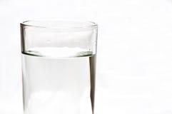 Fresh water in 1 glass. Fresh water, vodka, whiskey, soda, gin in 1 glass Stock Photos