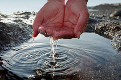 Fresh water Royalty Free Stock Photo