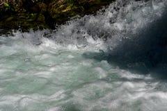 Fresh Water Of An Alpine River. Fresh Clear Water Of An Alpine River stock photo