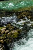Fresh Water Of An Alpine River. Fresh Clear Water Of An Alpine River royalty free stock photography