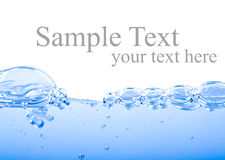 Fresh water background Royalty Free Stock Photos