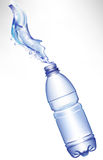 Fresh water in bottle Stock Photography
