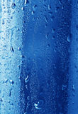 Fresh water droplets background Stock Photography