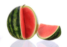 Fresh water melon Stock Photos