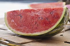 Fresh water melon slices Stock Images