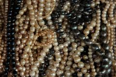 Fresh Water Pearls Royalty Free Stock Image