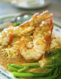 Fresh Water Prawn Noodles Royalty Free Stock Photo