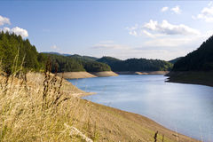 Fresh water reservoir Royalty Free Stock Image