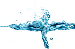 Fresh water splash Stock Photography