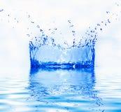 Fresh water splash royalty free stock photography