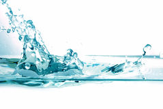 Fresh water splash Stock Image
