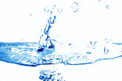 Fresh water splash Royalty Free Stock Photography