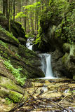 Fresh water stream flowing down Stock Photography