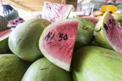Fresh watermelon Stock Photography