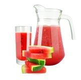 Fresh watermelon juice Royalty Free Stock Photos