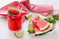 Fresh watermelon with juice Royalty Free Stock Photography