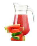 Fresh watermelon juice Stock Image