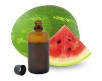 Fresh Watermelon oil royalty free stock photo